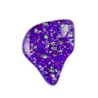 グリッター紫