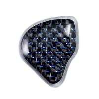 Plain Carbon with Blue Fiber